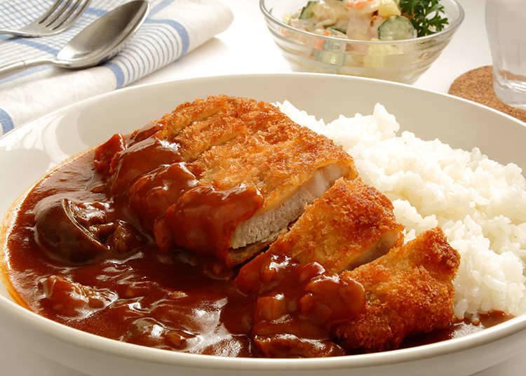 Katsukare (Kari Jepun kutlet daging khinzir)