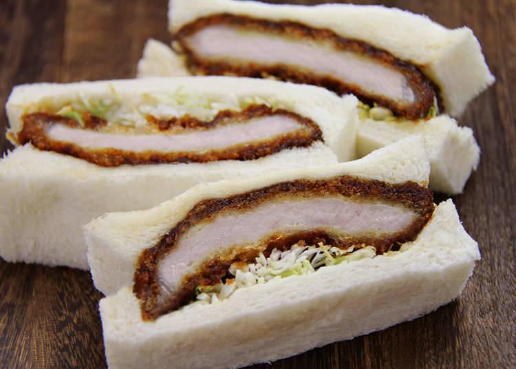 炸猪排三明治