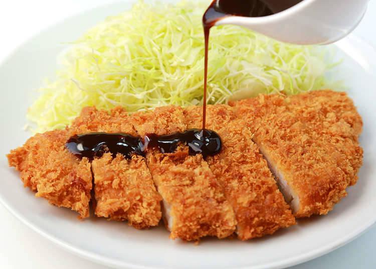 日式炸豬排的醬料