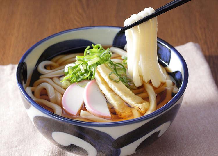 라멘에 이어 일본의 대표적인 면 요리. 우동과 소바