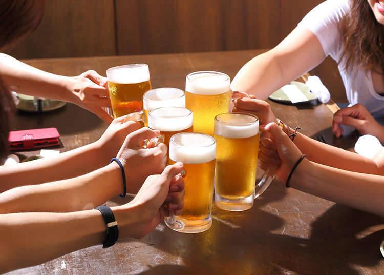 Drinks Served in an Izakaya