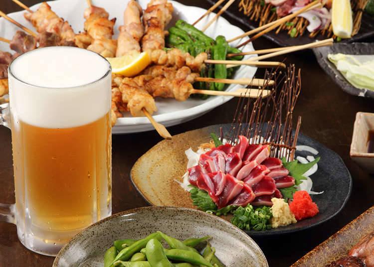 Food Served in an Izakaya