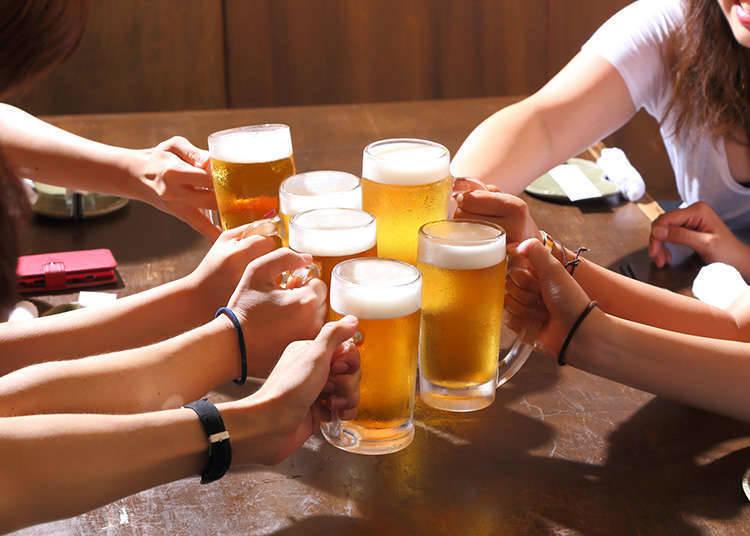 居酒屋の飲み物