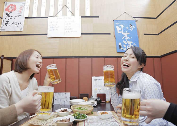 Minum sepuasnya dengan sistem 'drink-all-you-can' dan masa servis