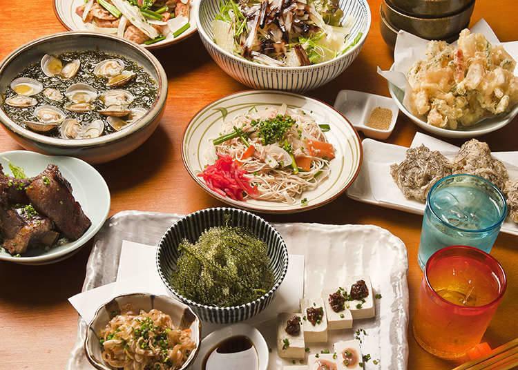 Okinawa's peculiar snacks