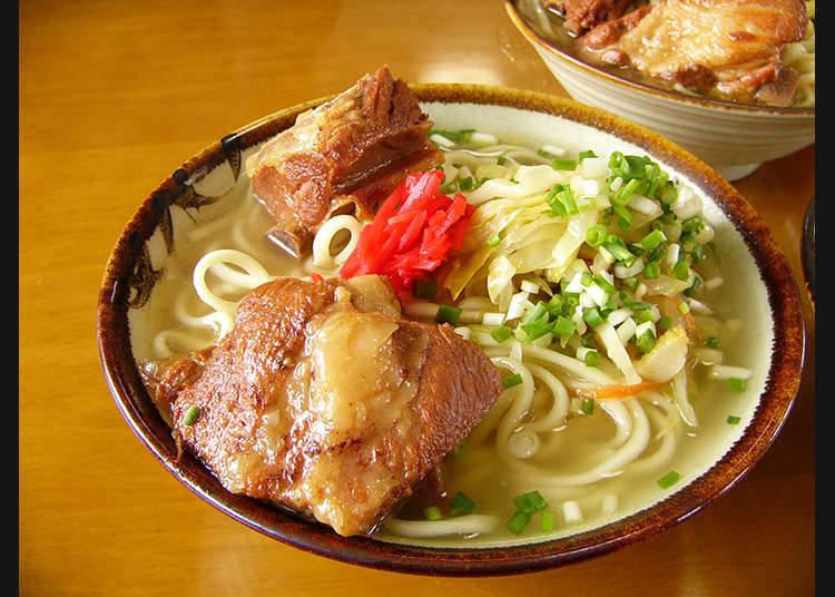 Makanan berasaskan daging dari Okinawa