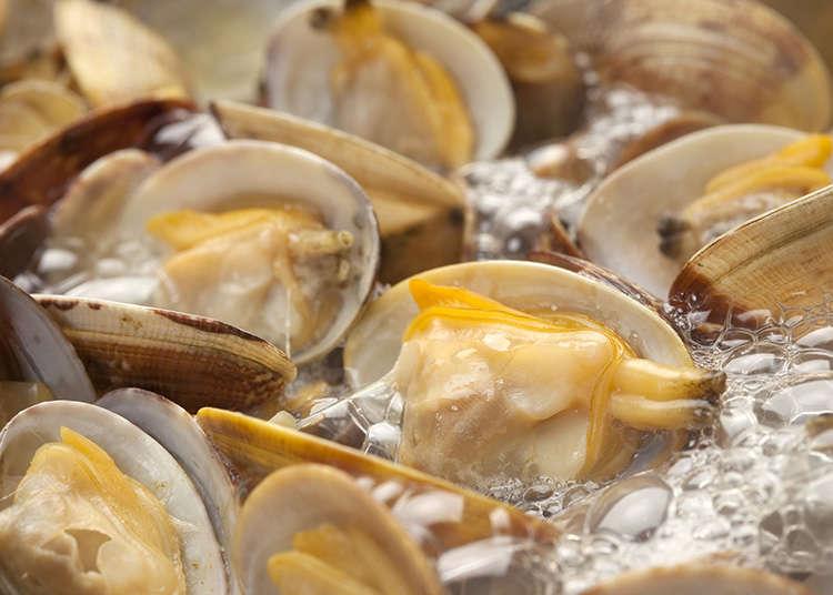 อาหารประเภทหอยและอาหารทะเล