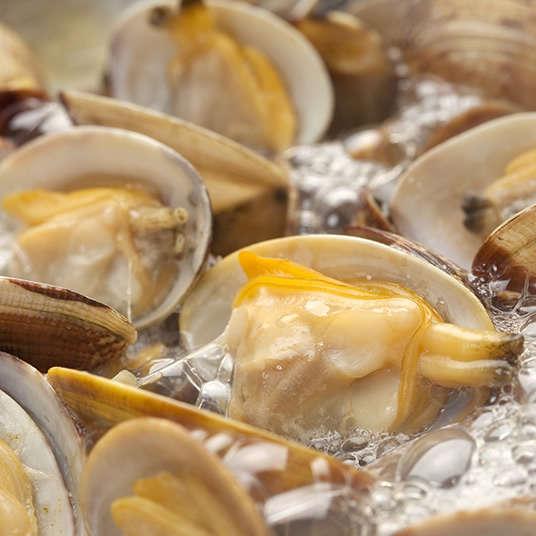 조개 요리, 해산물 요리