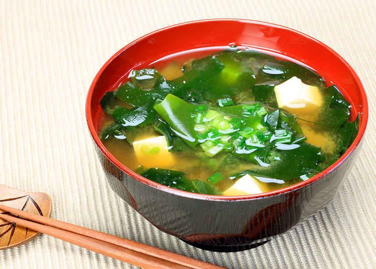 ซุปมิโสะและซุปน้ำใส