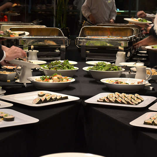 Buffet: all-you-can-eat