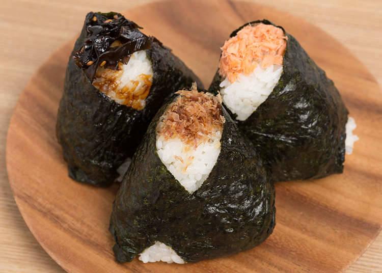 Bento (a lunch box) and Onigiri