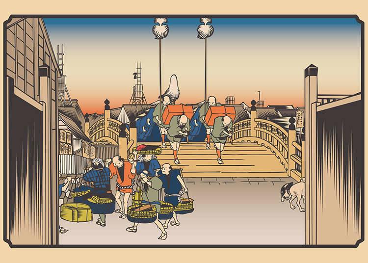 Sejarah makanan segera di Jepun