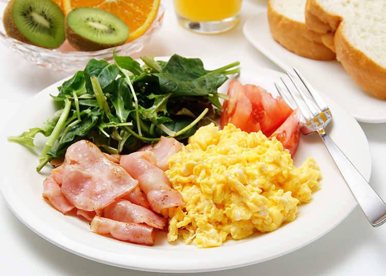 บุฟเฟ่ต์อาหารเช้า
