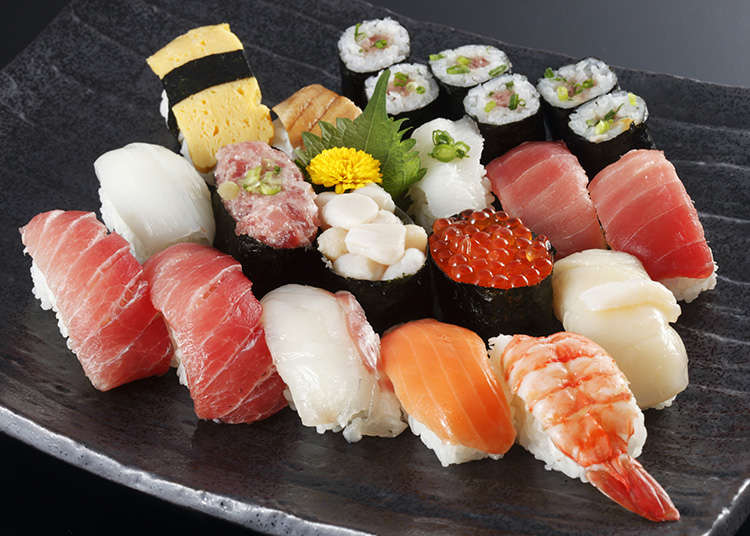 Japanese traditional cuisine sushi live japan japanese for Authentic japanese cuisine