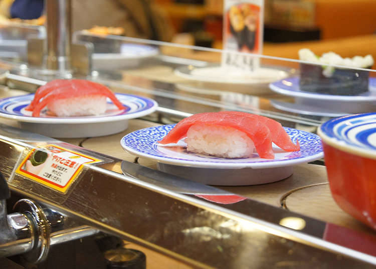 สถานที่ที่สามารถทานซูชิได้