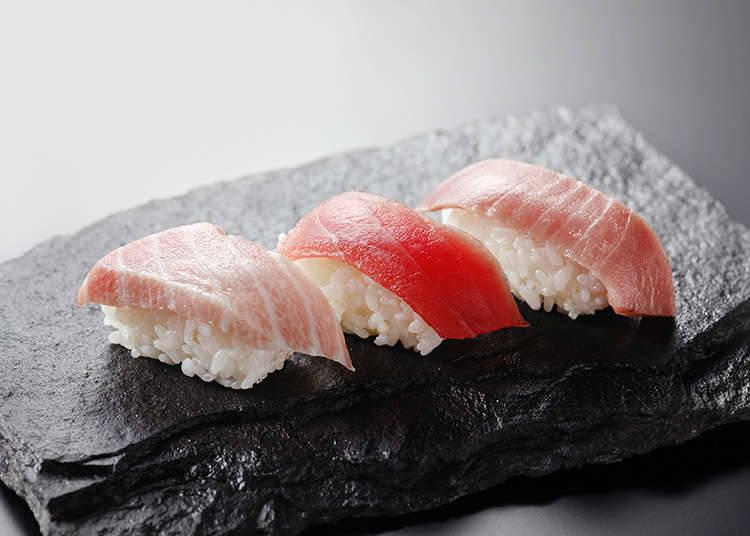 握壽司的海鮮
