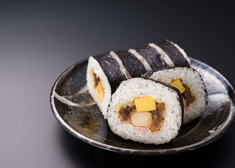 各式各樣的壽司