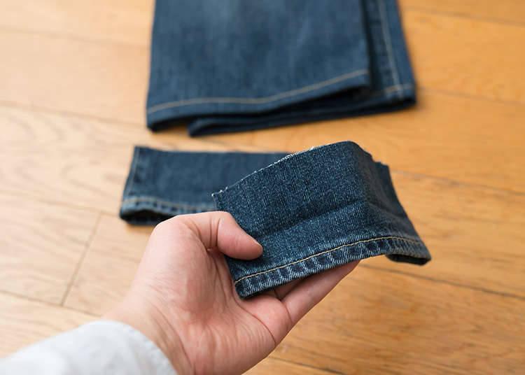 การแก้เสื้อผ้า