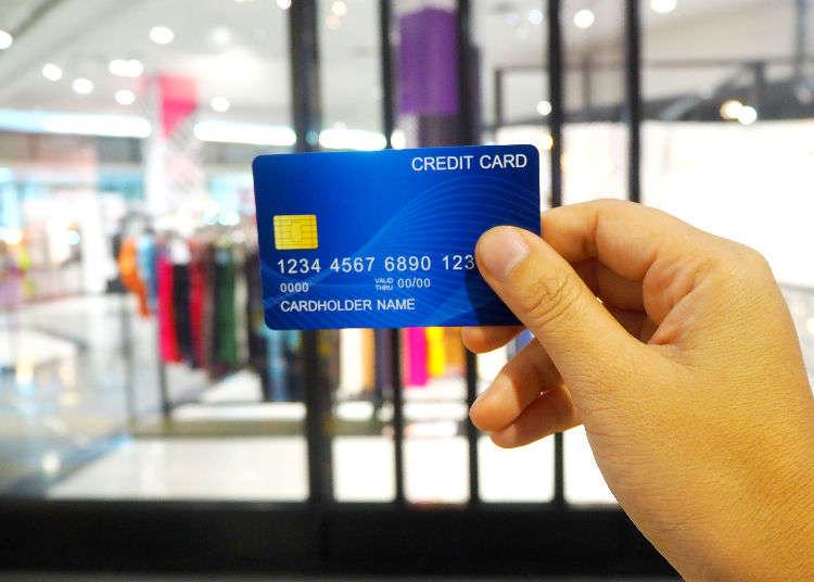 일본에서의 신용카드 사용 방법과 주의 사항