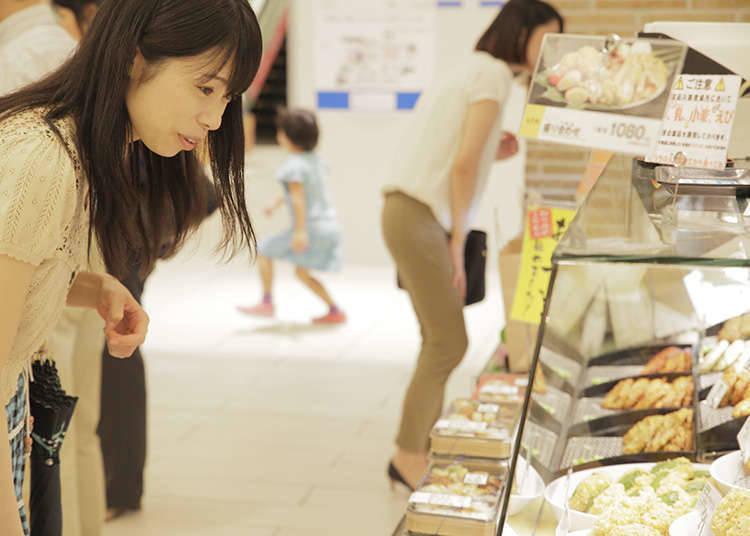 A Department Store's Basement Food Floor