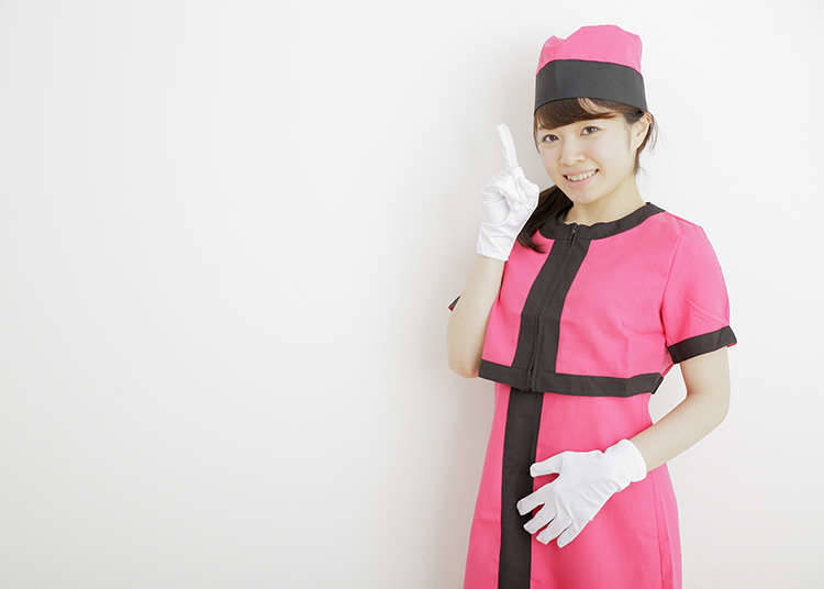 Elevator girl (gadis lif)