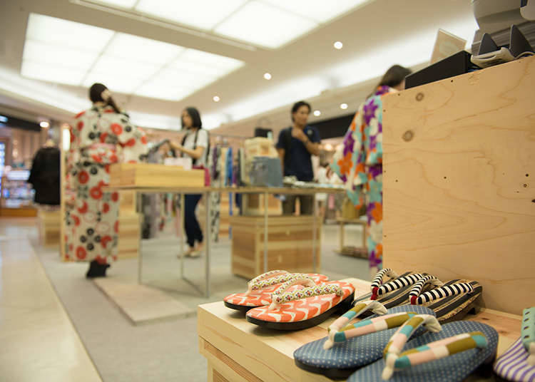 Kedai kimono dan yukata