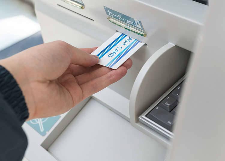 对外国游客很方便的便利店ATM机