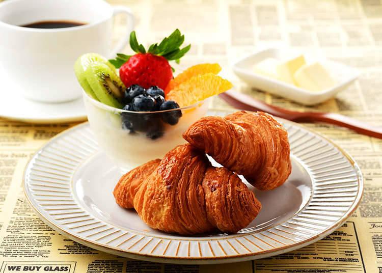 무료 아침 식사와 음료 서비스