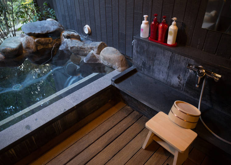Shared Baths in Guesthouses, Ryokan, and B&Bs