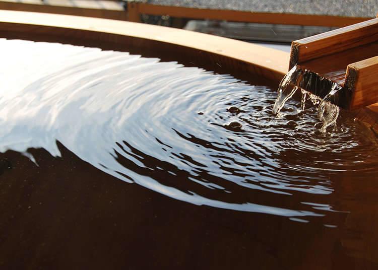 일본 특유의 목욕 문화