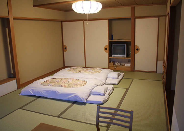 Differences from Hotels and Ryokans