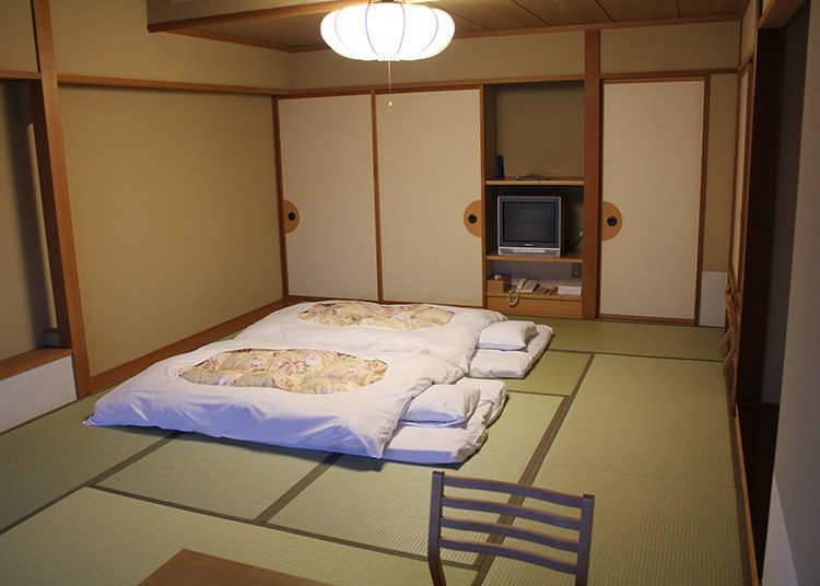 Perbedaan Hotel dan Ryokan