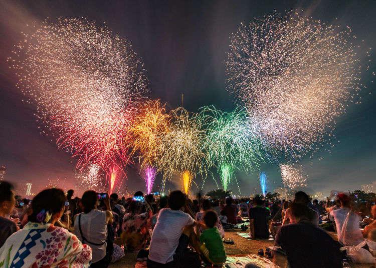 [2017年花火特集]讓東京夏日的夜空變得多彩的煙火大會
