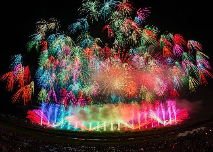 """Tokyo Fireworks Festival """"Edomode"""""""