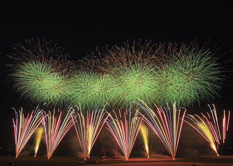 Pertunjukan Bunga Api Edogawa-ku