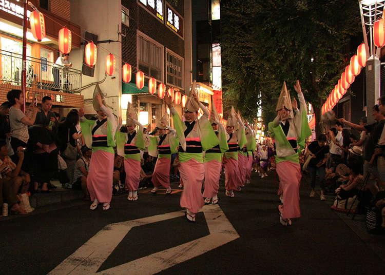 สนุกสนานครื้นเครงกันโดยไม่ยอมแพ้ต่ออากาศร้อน !  อีเวนต์ของโตเกียวในเดือนกรกฎาคม