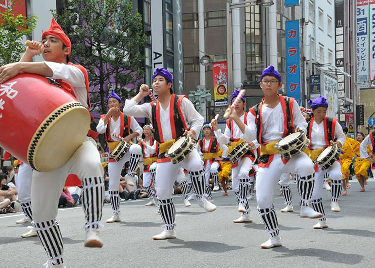 The Shinjuku Eisa Festival 2017