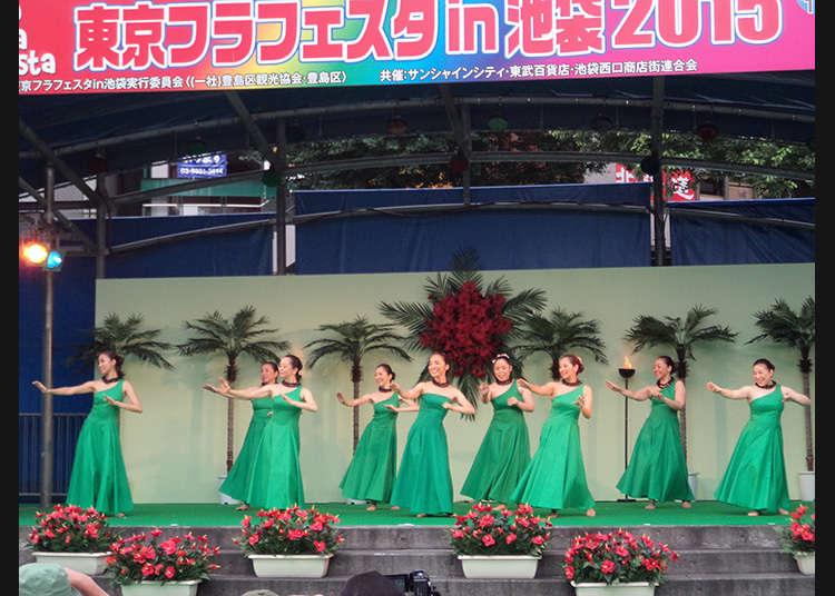 Tokyo Hula Festa in Ikebukuro