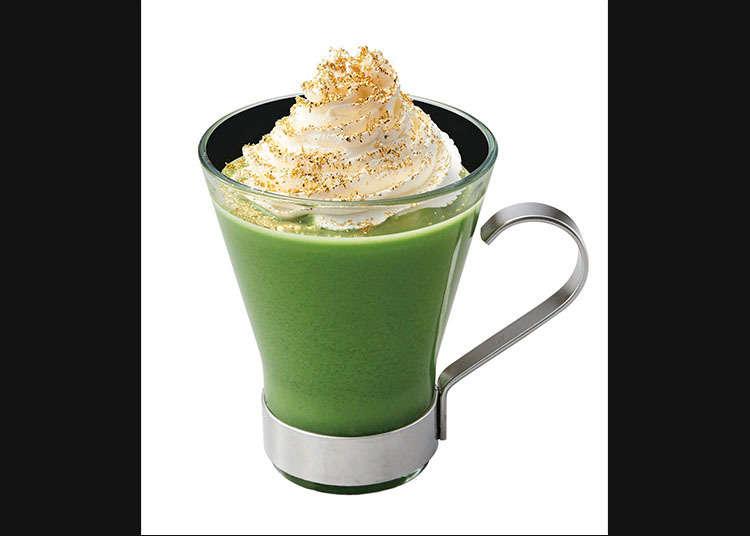 Nana's green tea yang Menggunakan Teh Hijau