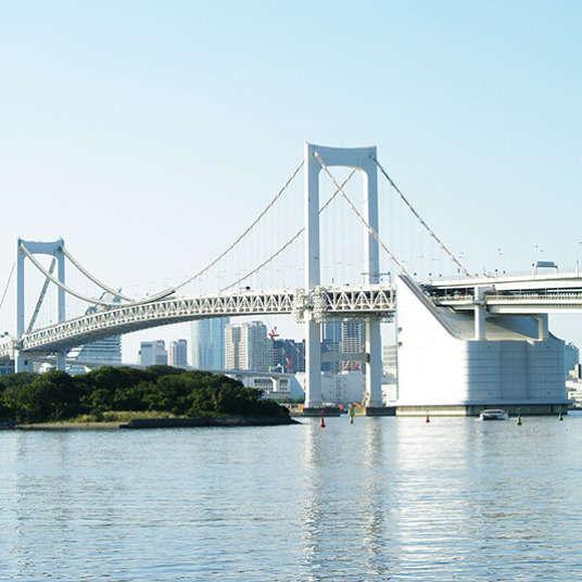 Dua Lokasi Foto Pilihan di Odaiba