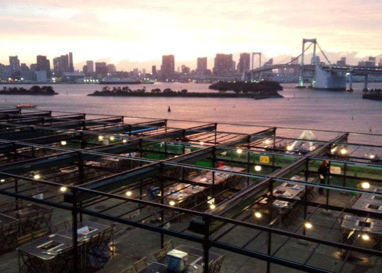 在「東京狄克斯海濱」BBQ烤肉