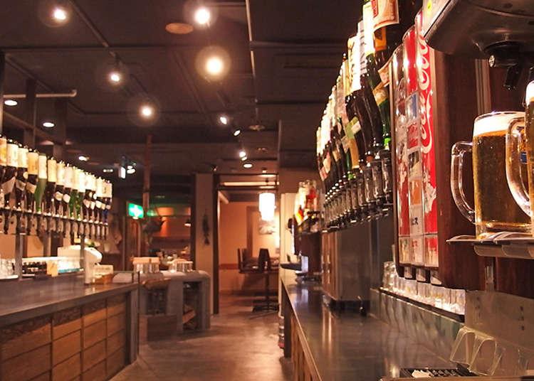 """Minum di Ikebukuro! Kedai """"nomihodai"""" atau bar, yang mana satu menjadi pilihan?"""