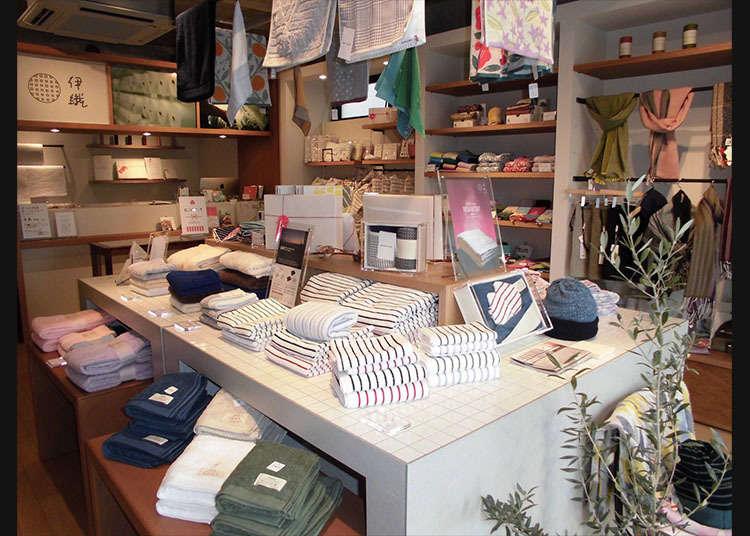 Iori, Toko Spesialis Handuk Imabari Towel di Kichijoji