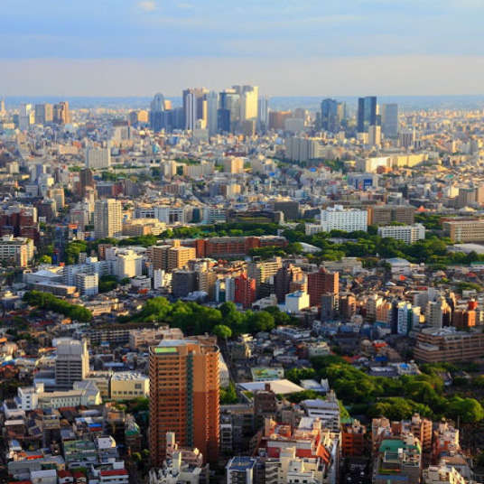 Cityscapes of Japan