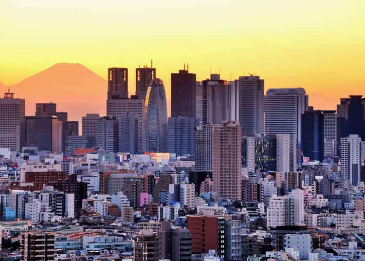 現代的な都市の街並み
