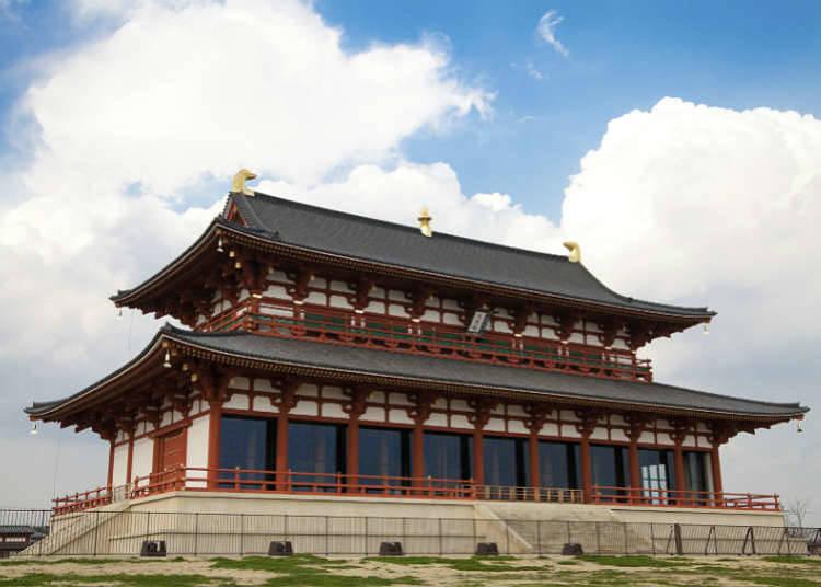 Tempat bersejarah selepas era pemerintahan Nara