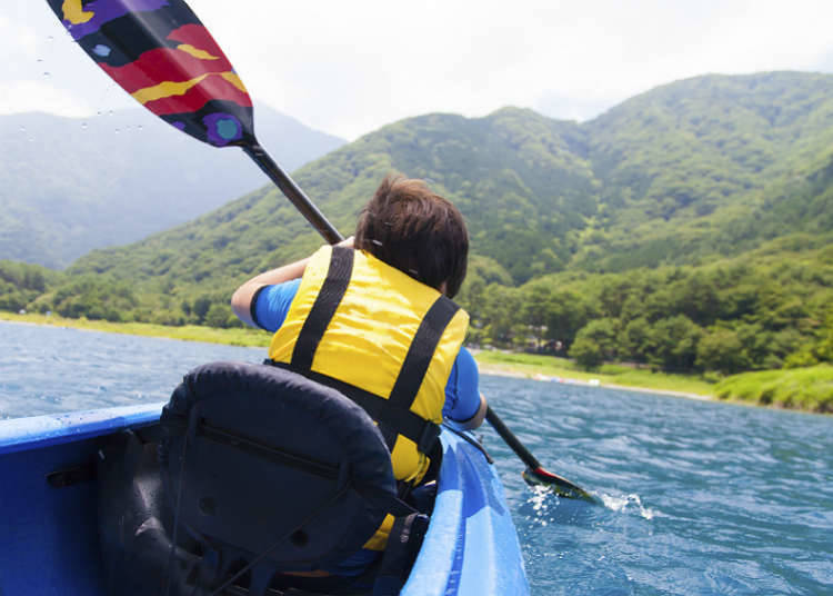 Cara Menikmati Sungai dan Danau