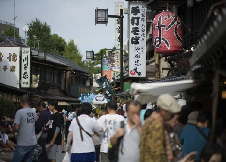 Shitamachi di Tokyo