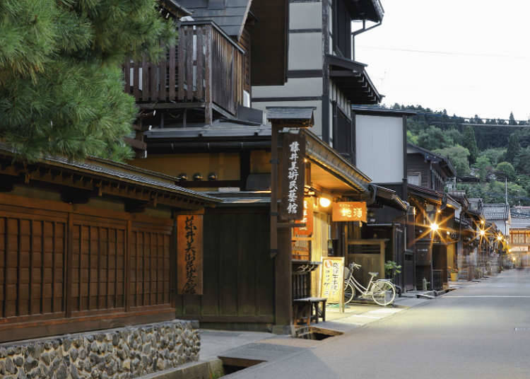เมืองโชเคียวโตะที่คุณสามารถเพลิดเพลินไปกับทิวทัศน์บ้านเมืองในเชิงประวัติศาสตร์ได้