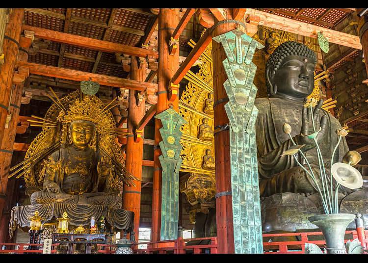 Patung Buddha di Jepang